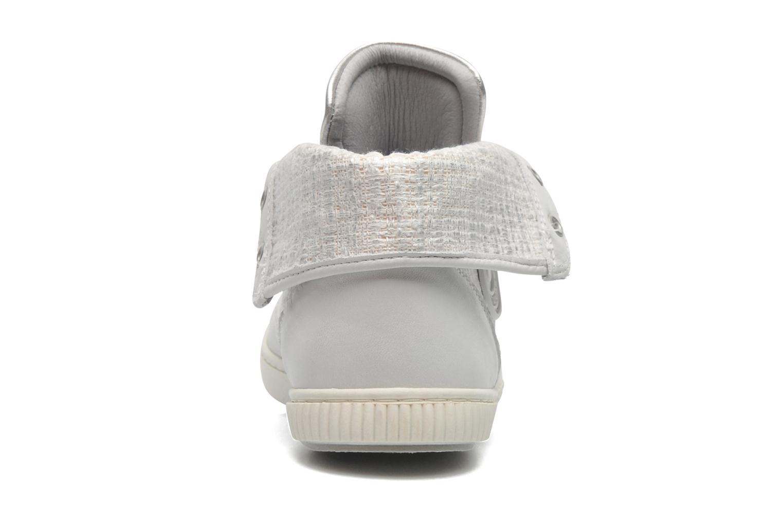 Sneakers Pataugas Bandit F Zilver rechts