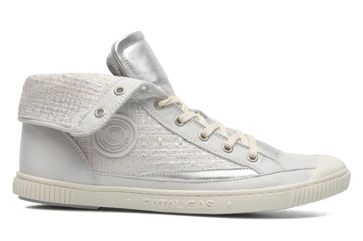 Trainers Pataugas Bandit F Silver back view
