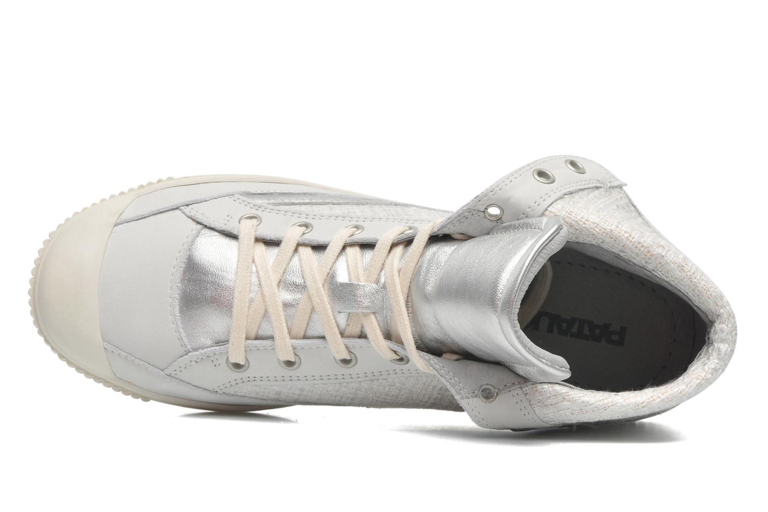 Trainers Pataugas Bandit F Silver view from the left
