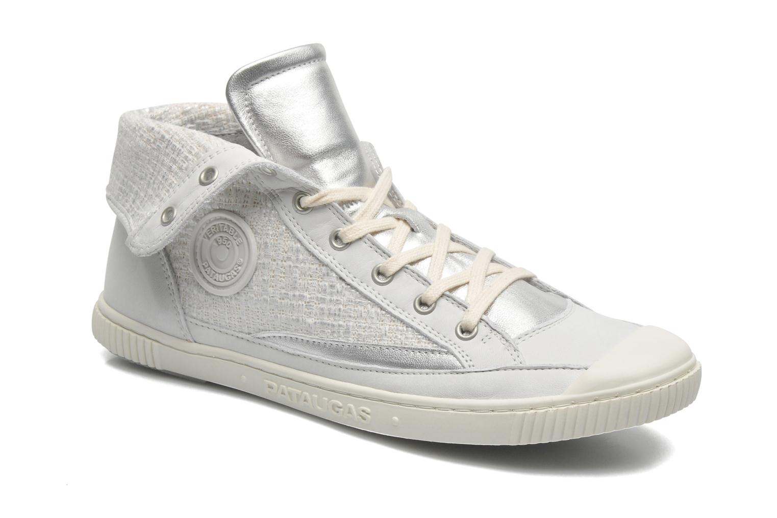 Trainers Pataugas Bandit F Silver detailed view/ Pair view