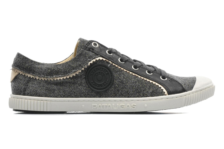 Sneakers Pataugas Binoush Zwart achterkant