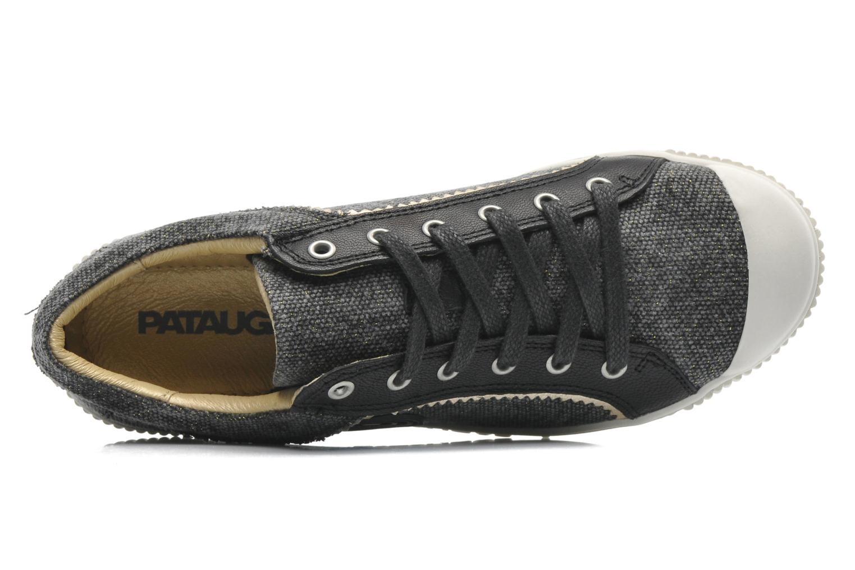 Sneakers Pataugas Binoush Zwart links