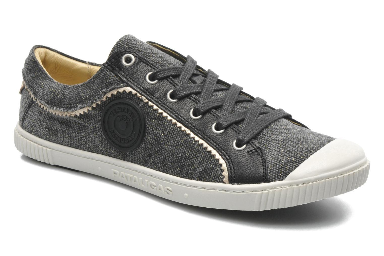 Sneakers Pataugas Binoush Zwart detail