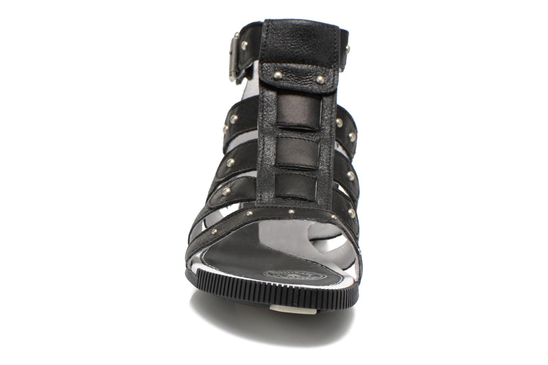 Sandalen Pataugas Corol schwarz schuhe getragen