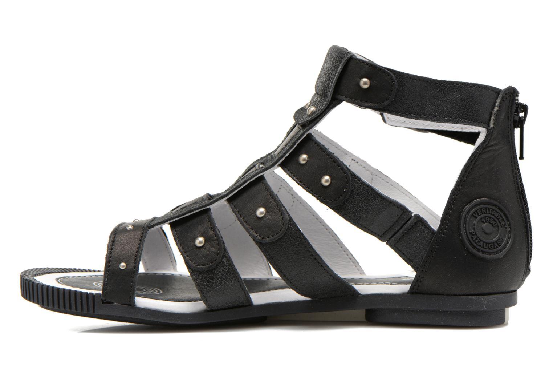 Sandales et nu-pieds Pataugas Corol Noir vue face