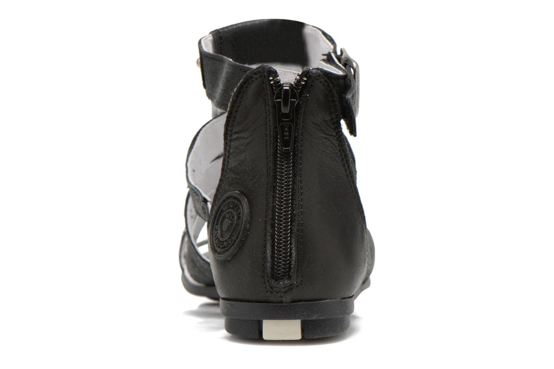 Sandales et nu-pieds Pataugas Corol Noir vue droite
