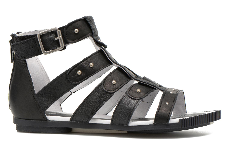 Sandales et nu-pieds Pataugas Corol Noir vue derrière
