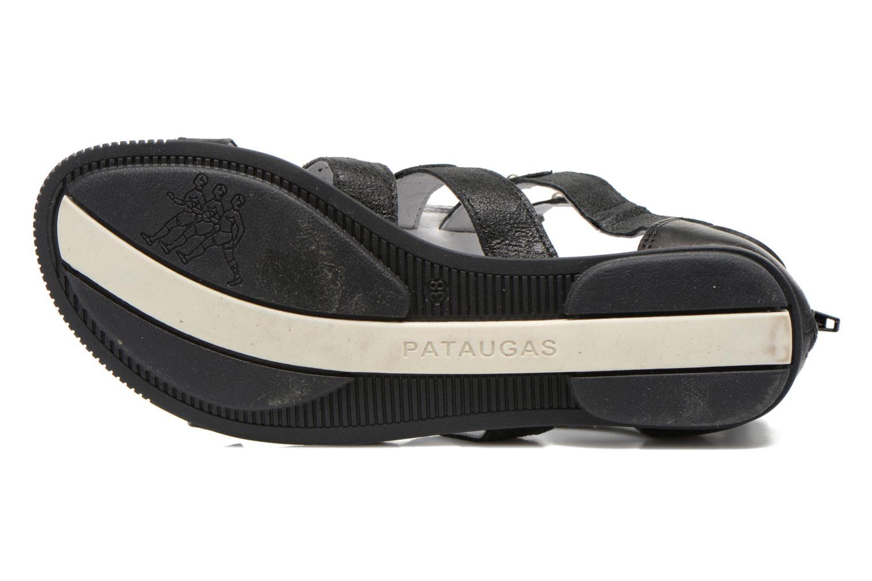 Sandalen Pataugas Corol schwarz ansicht von oben