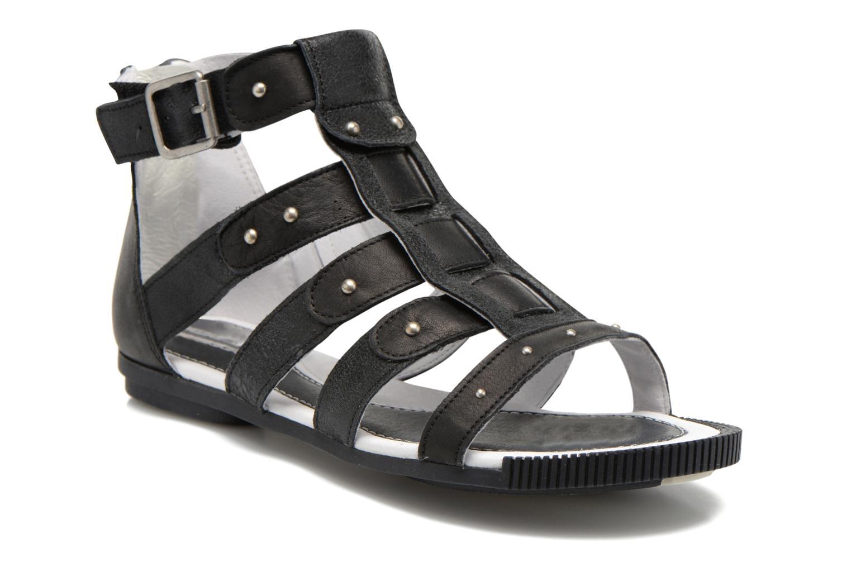Sandales et nu-pieds Pataugas Corol Noir vue détail/paire