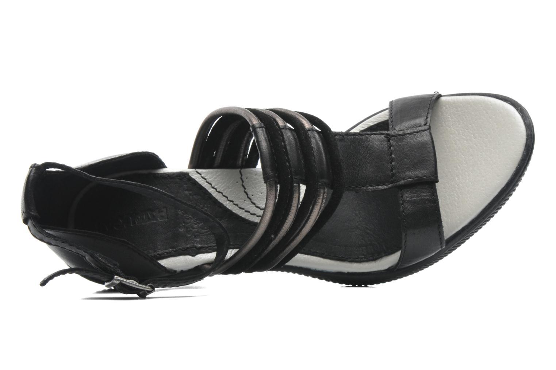 Sandales et nu-pieds Pataugas Faty/MC Noir vue gauche