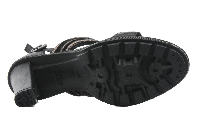 Sandales et nu-pieds Pataugas Faty/MC Noir vue haut