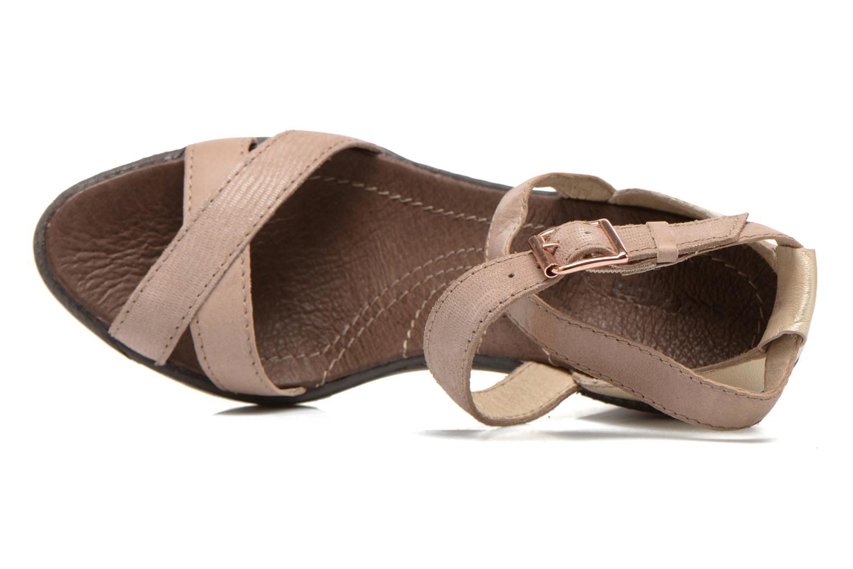 Sandales et nu-pieds Pataugas Gouy Beige vue gauche