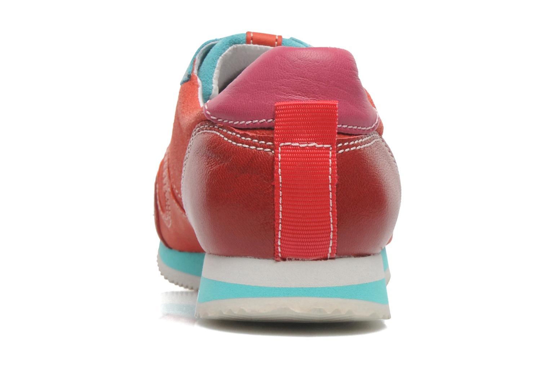 Baskets Pataugas Idol/MC Rouge vue droite