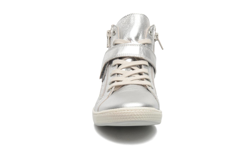 Baskets Pataugas Janis/M Argent vue portées chaussures