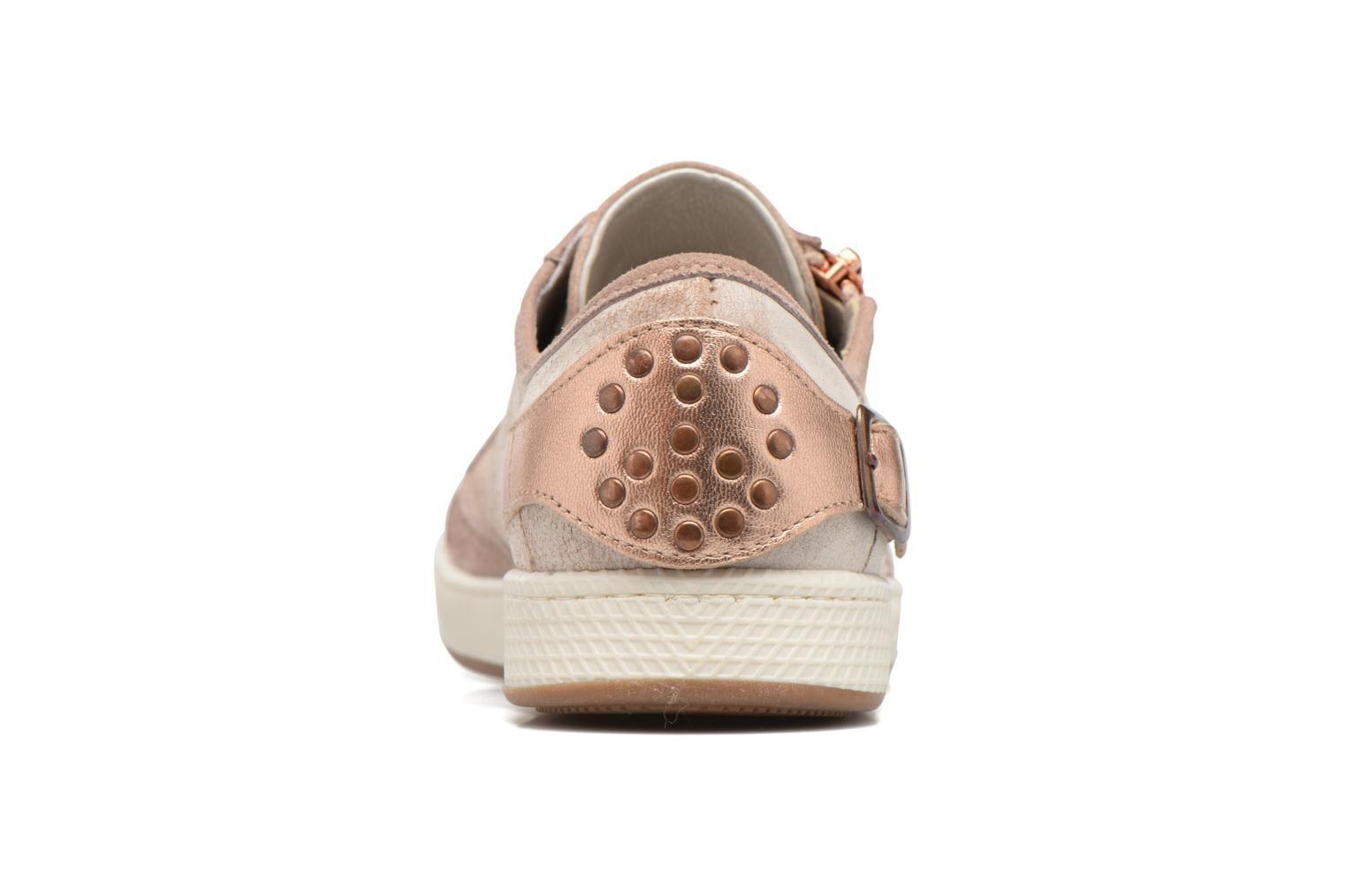 Trainers Pataugas Jester Beige view from the right