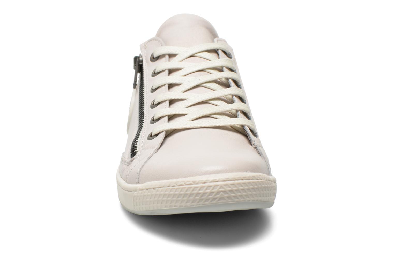 Baskets Pataugas JesterN Blanc vue portées chaussures