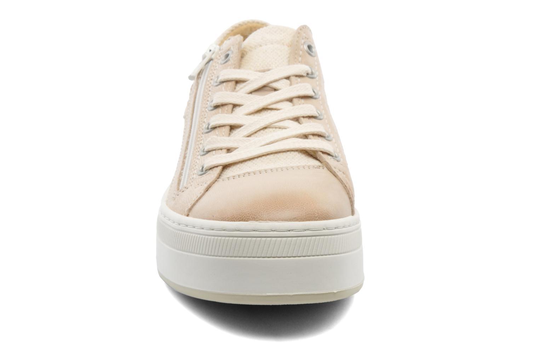 Baskets Pataugas Pix Beige vue portées chaussures