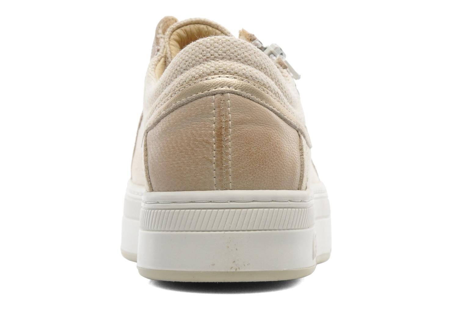 Trainers Pataugas Pix Beige view from the right