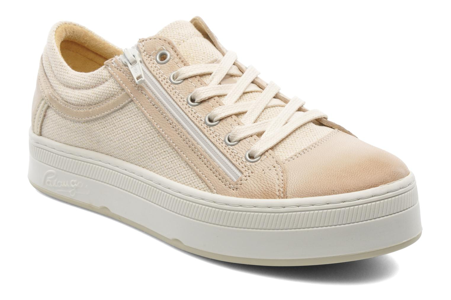 Trainers Pataugas Pix Beige detailed view/ Pair view