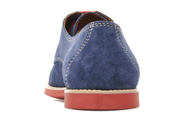 Chaussures à lacets Pataugas Hector H Bleu vue droite