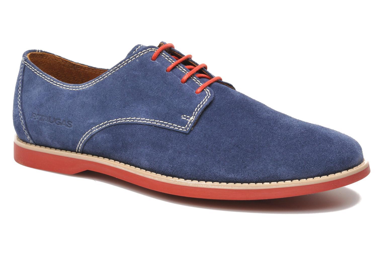 Chaussures à lacets Pataugas Hector H Bleu vue détail/paire