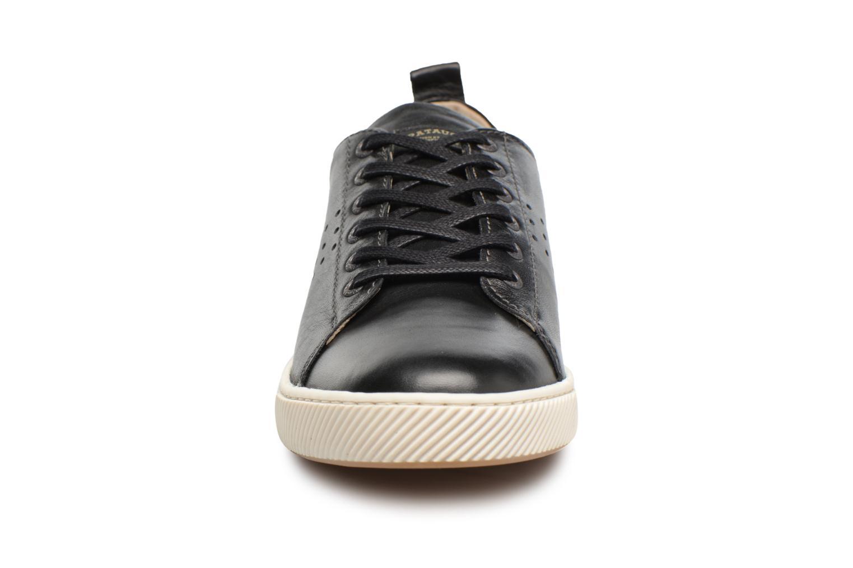 Baskets Pataugas Mattei Noir vue portées chaussures