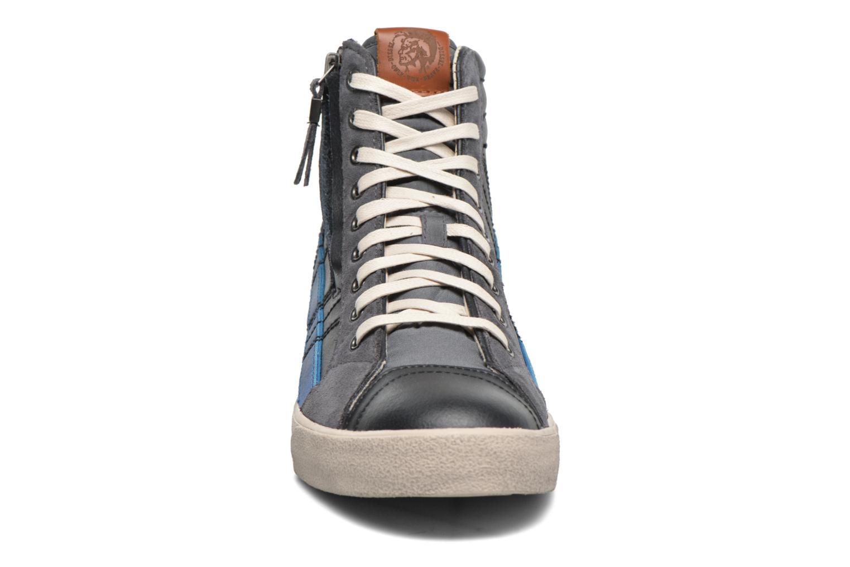 Sneaker Diesel D-String Plus schwarz schuhe getragen