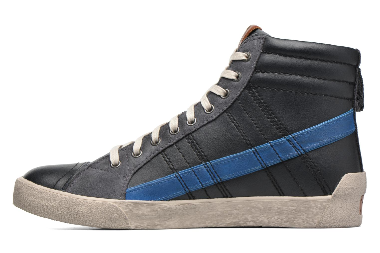 Sneakers Diesel D-String Plus Zwart voorkant