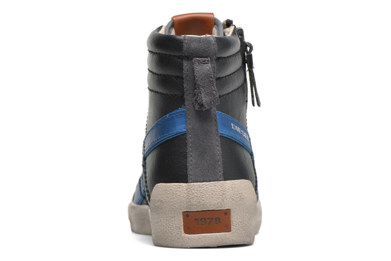 Sneaker Diesel D-String Plus schwarz ansicht von rechts