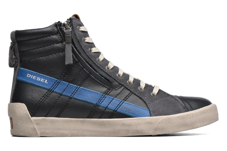Sneakers Diesel D-String Plus Zwart achterkant