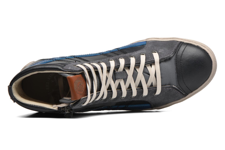 Sneaker Diesel D-String Plus schwarz ansicht von links