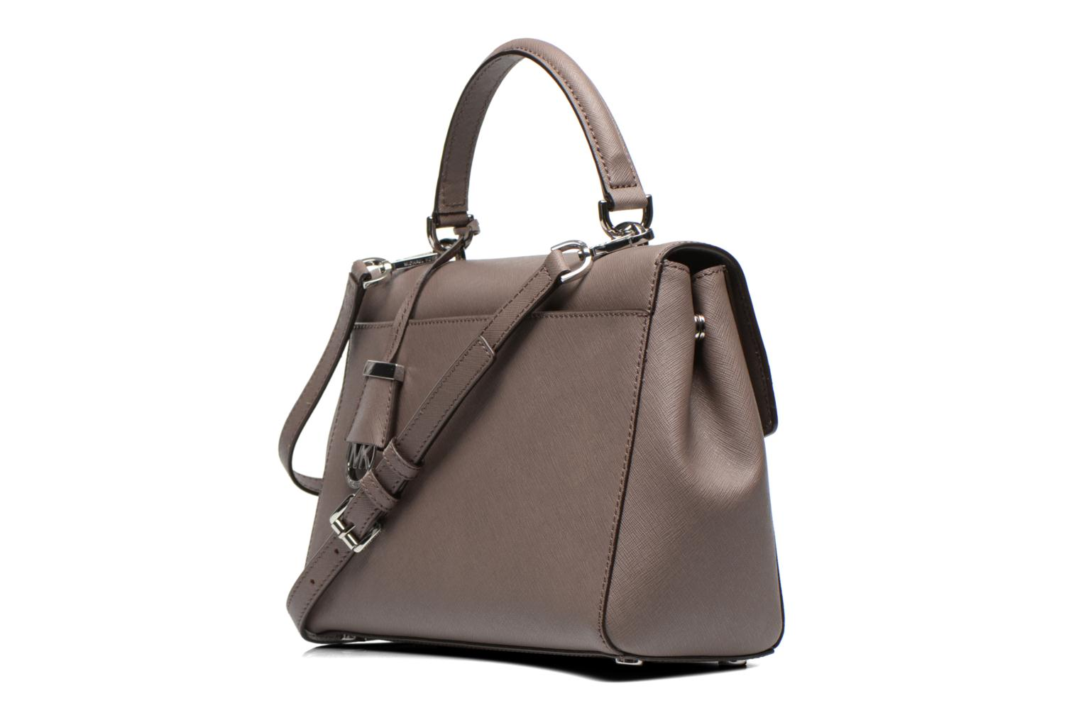 AVA MD TH Satchel Saffiano Cinder
