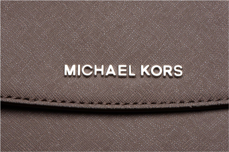 Handtassen Michael Michael Kors AVA MD TH Satchel Grijs links
