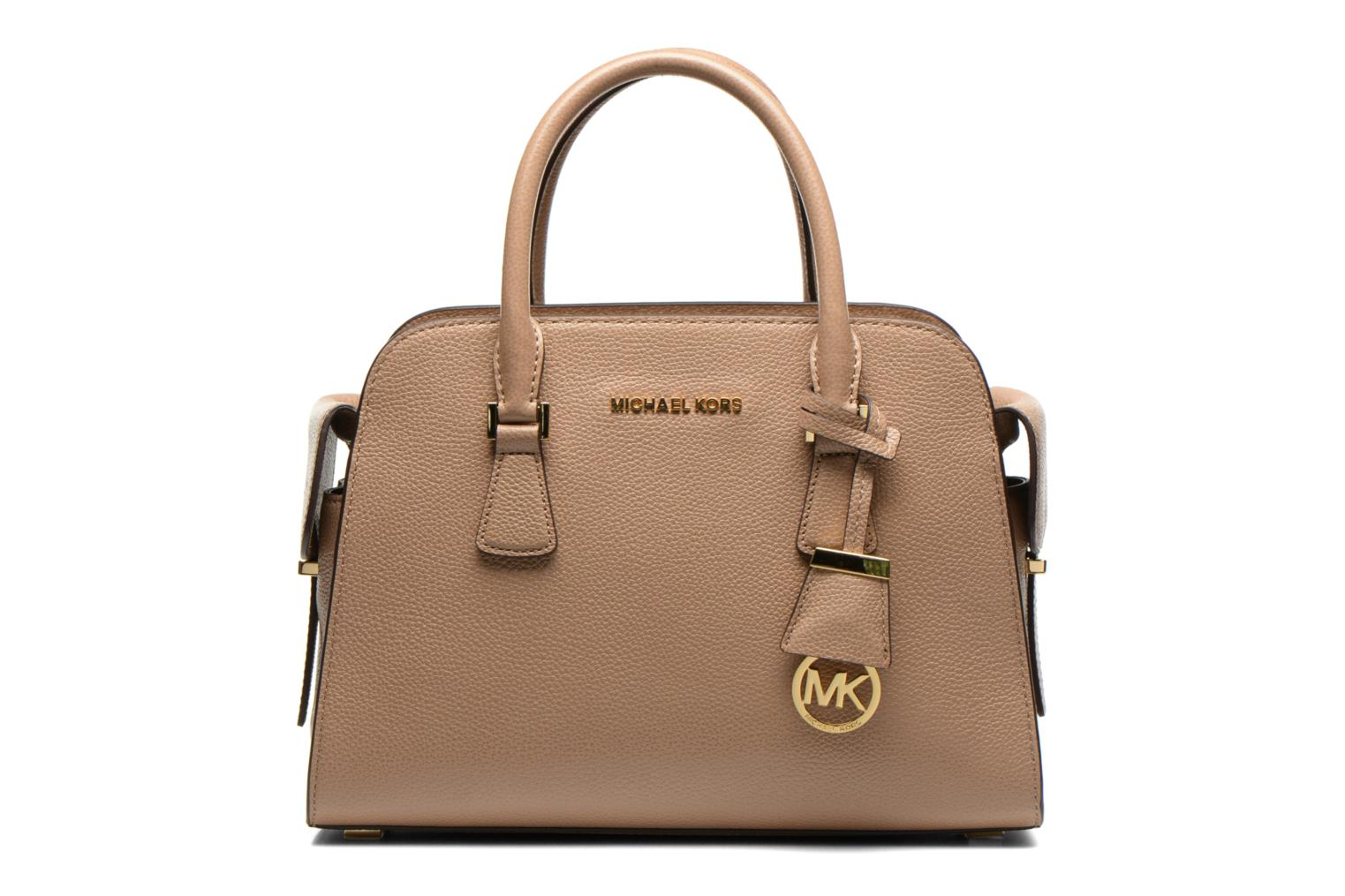 HARPER MD Satchel Glazed ranch leather Dark khaki
