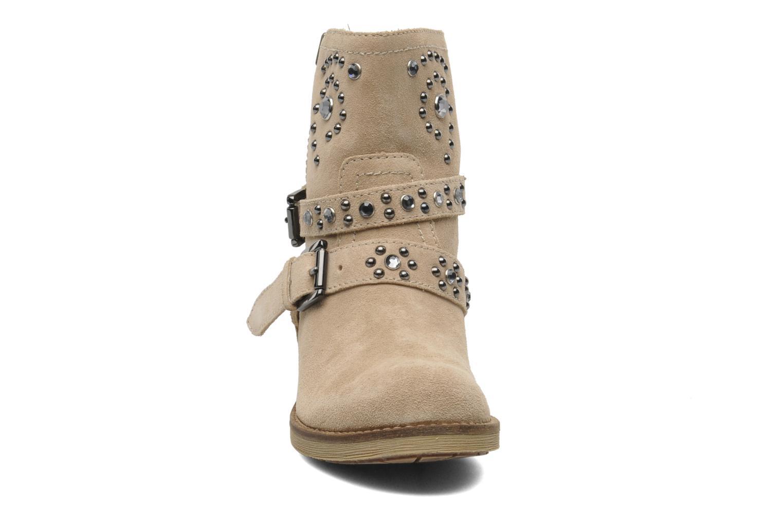 Bottines et boots Geox D New Virna A Beige vue portées chaussures