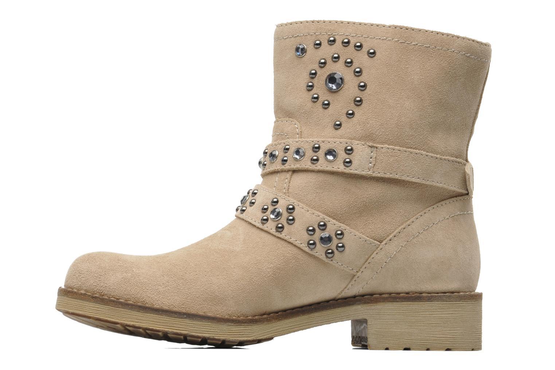 Bottines et boots Geox D New Virna A Beige vue face