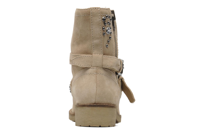 Bottines et boots Geox D New Virna A Beige vue droite