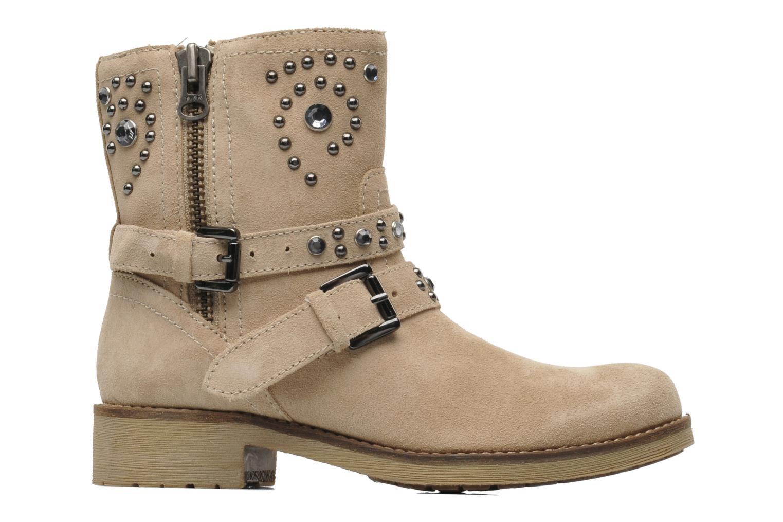 Bottines et boots Geox D New Virna A Beige vue derrière