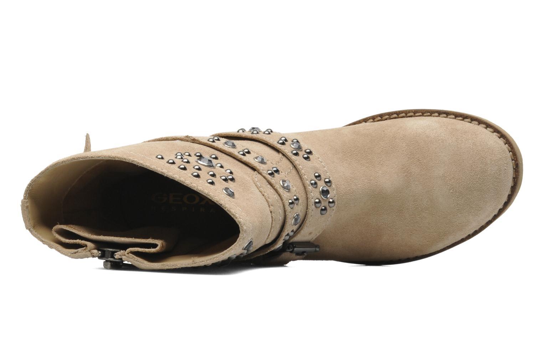Bottines et boots Geox D New Virna A Beige vue gauche