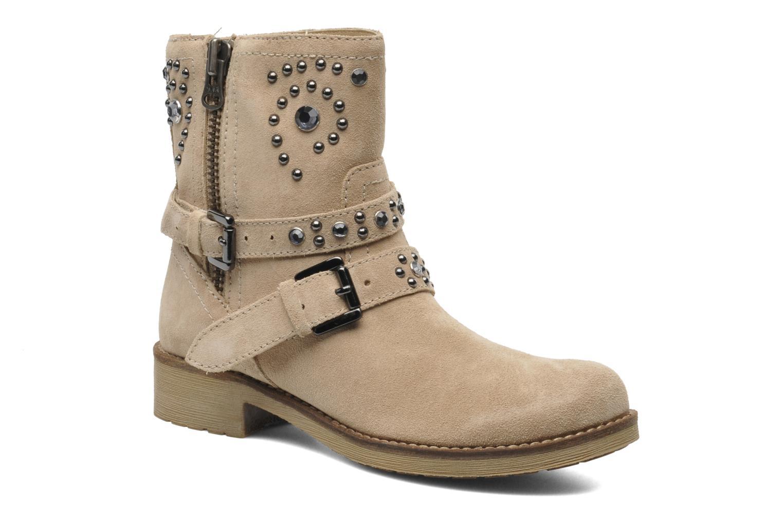 Bottines et boots Geox D New Virna A Beige vue détail/paire