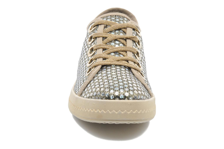 Sneaker Geox D Modesty A D4229A gold/bronze schuhe getragen