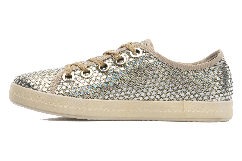 Sneaker Geox D Modesty A D4229A gold/bronze ansicht von vorne