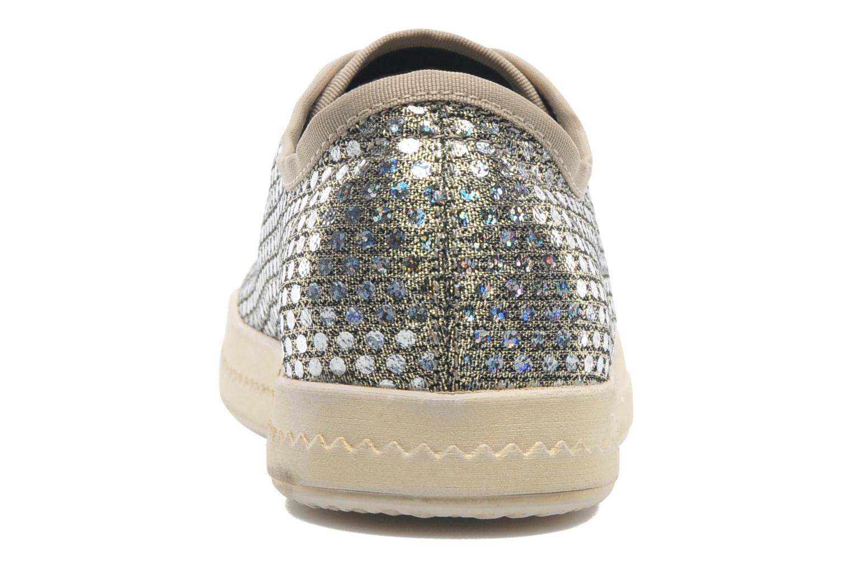 Sneaker Geox D Modesty A D4229A gold/bronze ansicht von rechts