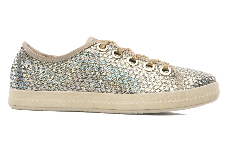 Sneaker Geox D Modesty A D4229A gold/bronze ansicht von hinten