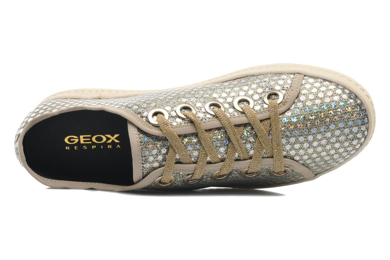 Sneaker Geox D Modesty A D4229A gold/bronze ansicht von links