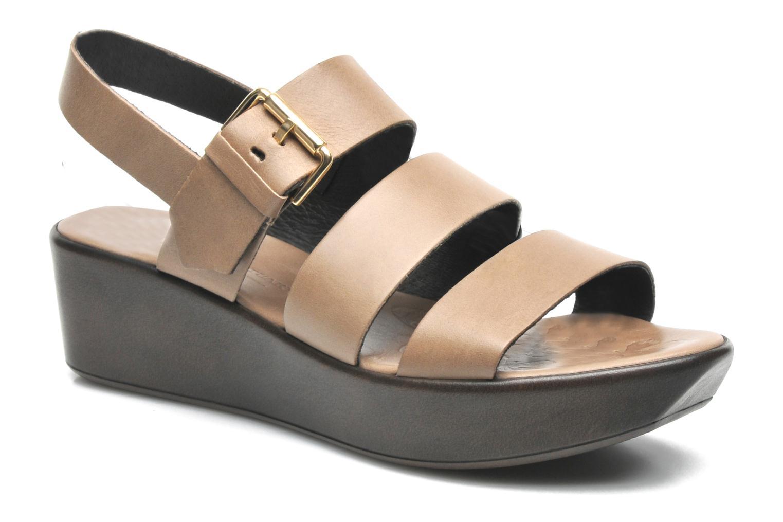 Sandales et nu-pieds Elizabeth Stuart Vidocq Marron vue détail/paire