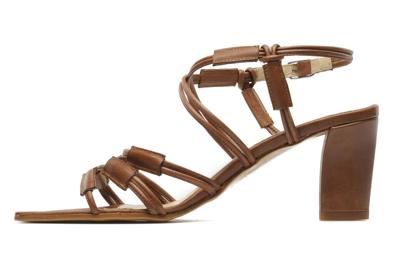 Sandales et nu-pieds Elizabeth Stuart Bakou Marron vue face