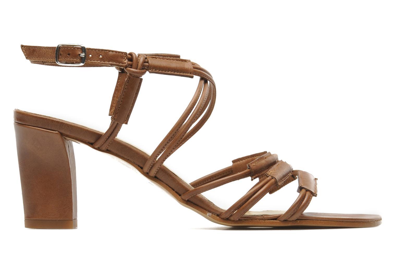 Sandales et nu-pieds Elizabeth Stuart Bakou Marron vue derrière