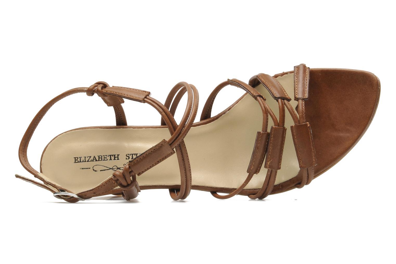 Sandales et nu-pieds Elizabeth Stuart Bakou Marron vue gauche
