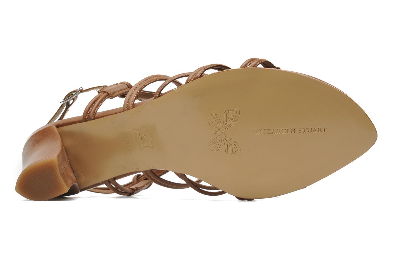 Sandales et nu-pieds Elizabeth Stuart Bakou Marron vue haut